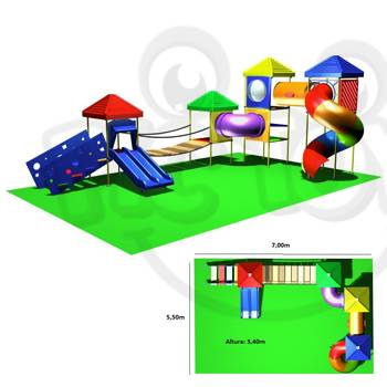 Brinquedão kid Play Externo - 003 | PicToys